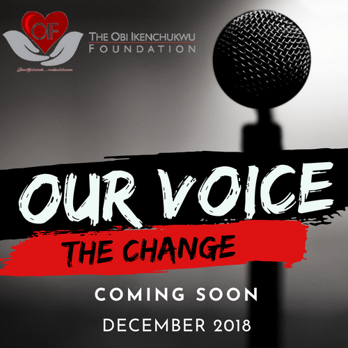 Event: Our voice…the change 2018